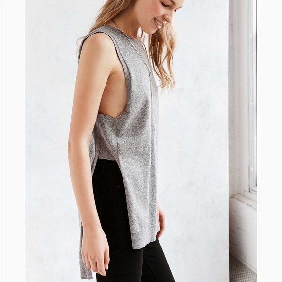 d3c43b15 Urban Outfitters Tops | Silence Noise Highlow Sweater Tunic Tank ...
